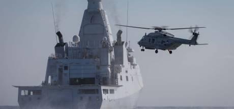 Succes voor marine in Cariben: speedboot met 1421 kilo cocaïne gestopt