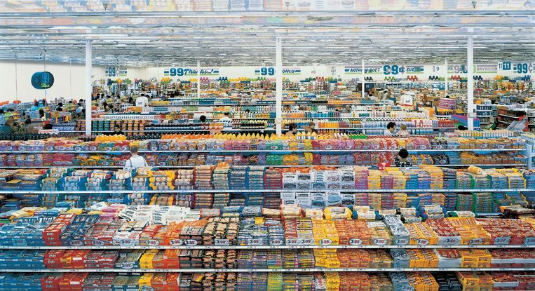 null Beeld Andreas Gursky