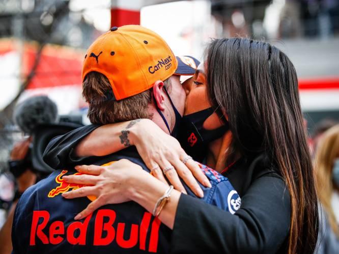 Braziliaans model Kelly Piquet (32) steelt de show tijdens gloriedag voor Max Verstappen (23) in Monaco