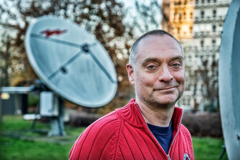 Clem Robyns, programmamaker en drijvende kracht achter Iedereen VRT. Beeld Tim Dirven