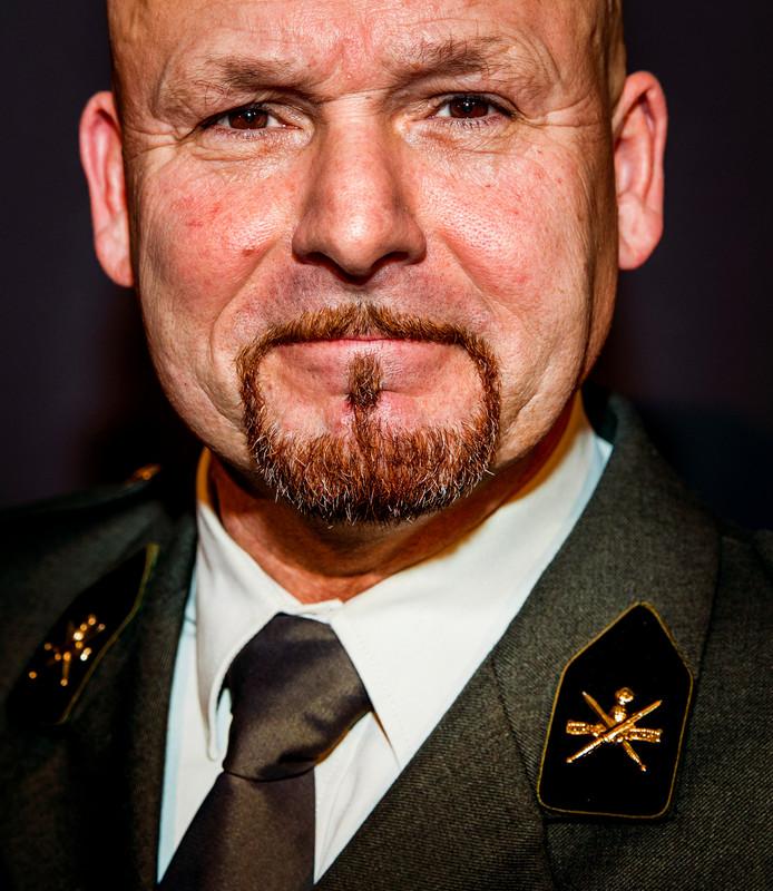 Marco Kroon tijdens de uitreiking van de radiovakprijzen in Theater Gooiland. ANP KIPPA REMKO DE WAAL