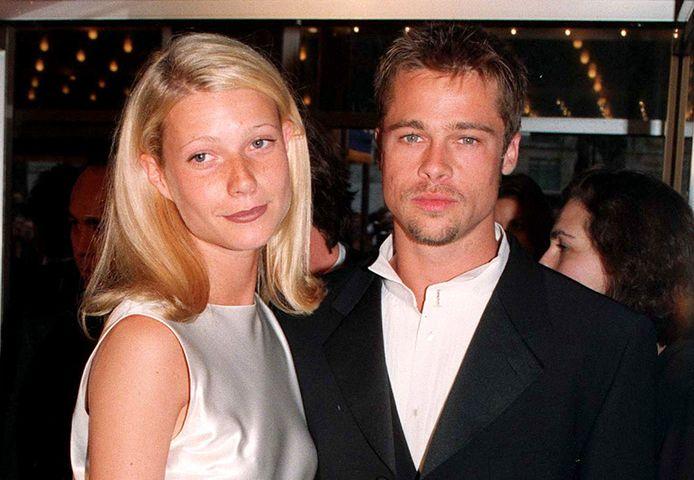 Gwyneth Paltrow et Brad Pitt en 1996