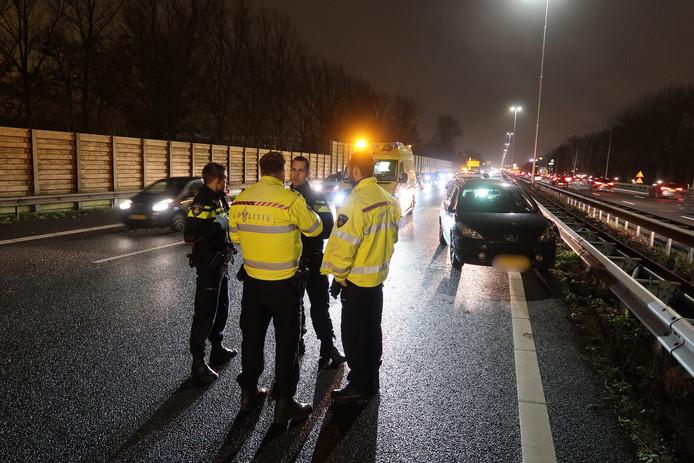 Ongeval mogelijk veroorzaakt door drugsgebruik van de bestuurder.