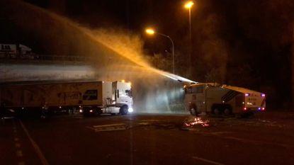350 agenten bewaken vanavond Total-site Feluy, voor het eerst ook tijdelijke blokkering buiten Wallonië