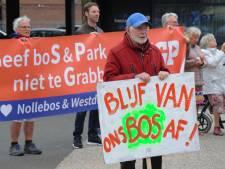 Geen grote(re) bedrijven in het Vlissingse bos voelt als overwinning voor voorzitter Ons Nollebos