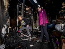 Scouting krabbelt op na verwoestende brand