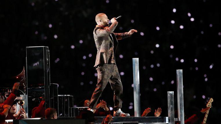 Justin Timberlake komt naar Arnhem en Amsterdam deze zomer. Beeld ANP