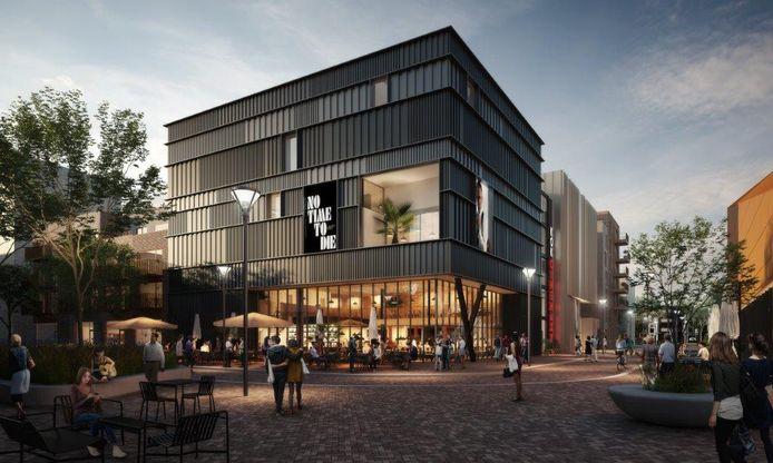Een impressie van de nieuwe bioscoop in Lelystad.