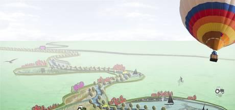 Acropolis in Megen zet deur wagenwijd open voor infopunt over Maasproject