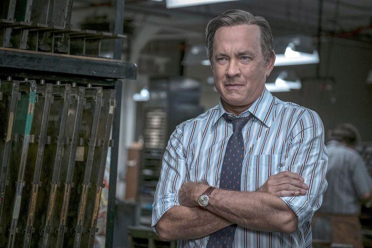 Tom Hanks als Bradlee in The Post. Beeld