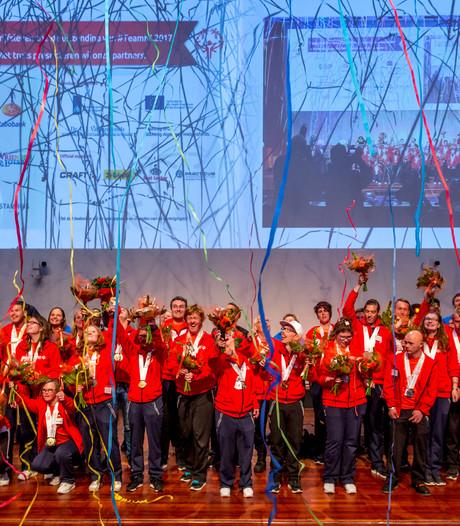 Special Olympics-sporters gehuldigd in Utrecht