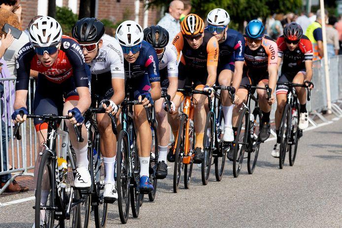 De mannen tijdens Ronde van Bergeijk-'t Loo