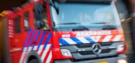 Brandweerman krijgt kopstoot tijdens blussen