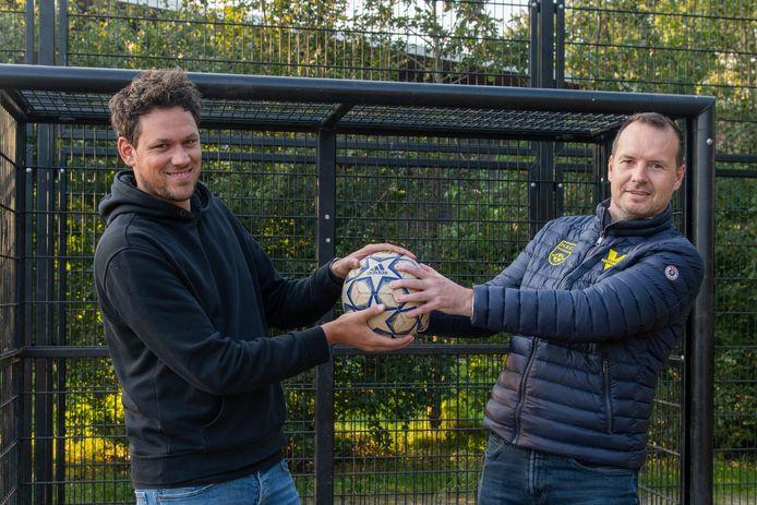 Mark Bakker (l) en John Kamphuis kennen elkaar door en door.