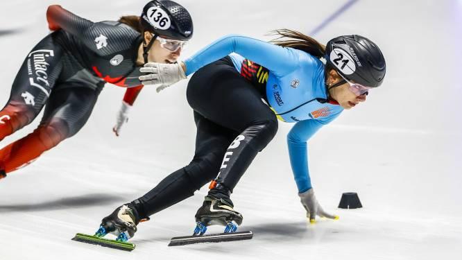 """Hanne Desmet schaatst naar zilver op 1.000 meter: """"Hebben heel hard gereden"""""""