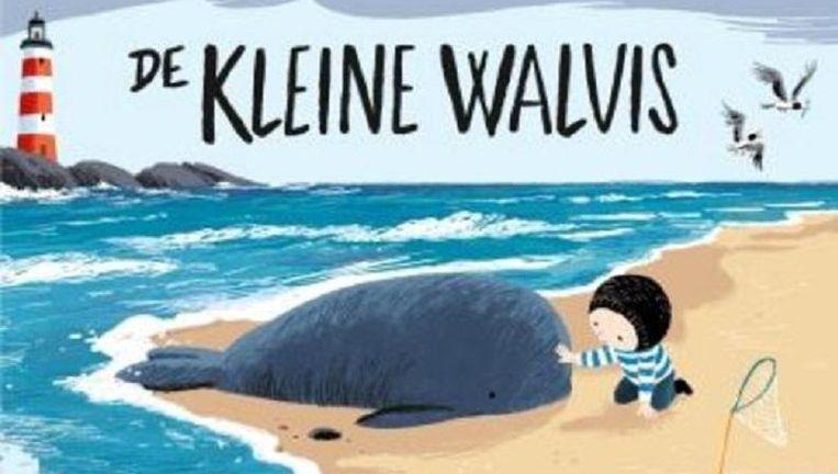 Omslag van het prentenboek De Kleine Walvis Beeld