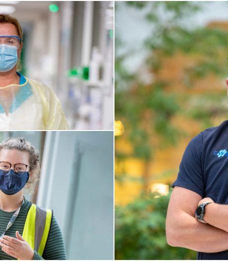 Middelvingers en scheldpartijen bij het ziekenhuis, CWZ in actie: 'Straks kom ik terug om je te besmetten'