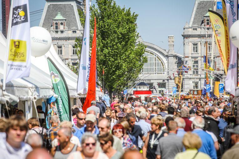 Oostende voor anker lokt elk jaar veel volk.