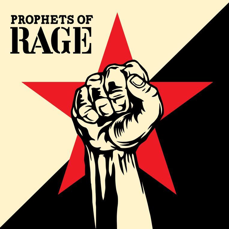 De hoes van 'Prophets of Rage', het debuutalbum van supergroep Prophets of Rage. Beeld Prophets of Rage