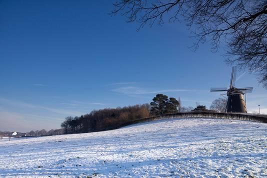 Mogelijk blijft er dit weekend wat sneeuw liggen in Zuid-Limburg.