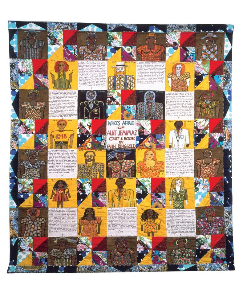 Who's Afraid of Aunt Jemima?, 1983 Beeld Faith Ringgold, c/o Pictoright Amsterdam