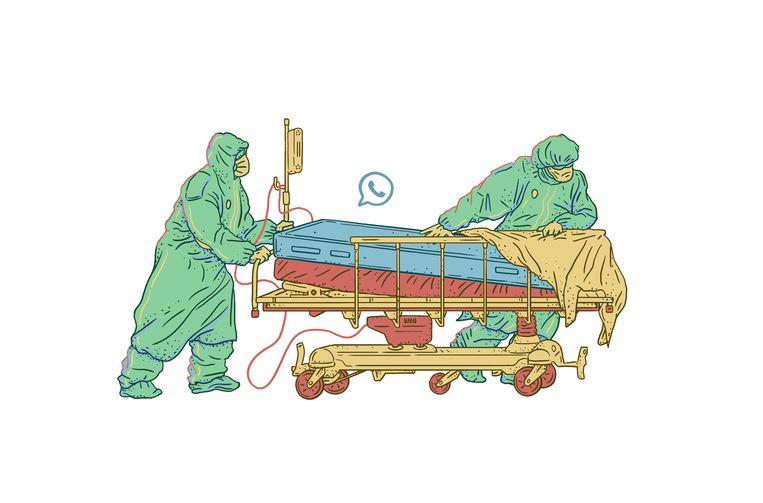 Zolang het virus zich vrij kan voortbewegen, zal geen enkel land ooit veilig zijn.Het is triest dat velen dat niet zien. Beeld KAAN