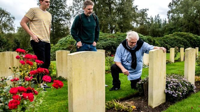 Vier generaties uit Canada, Israël en Finland bijeen op Canadese Begraafplaats Holten