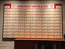 Trouwe sponsors bij MASV in Arnhem.
