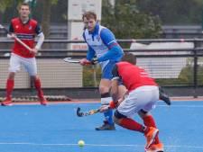 Hockeyers van Zwolle halen op de valreep nog een punt binnen