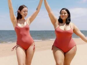 Un couple de femmes nous prouve que le style n'a rien à voir avec le chiffre sur la balance