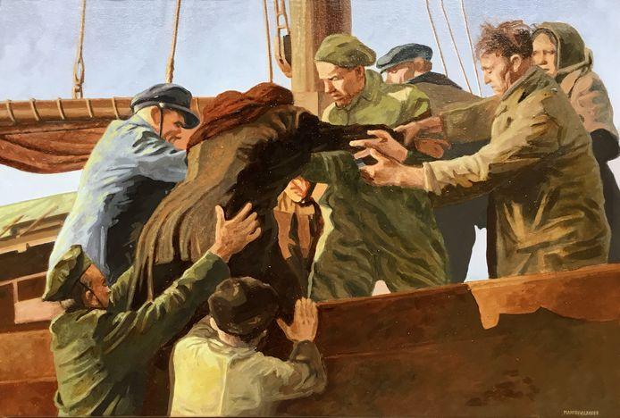 Schilderij '1953' van Martin Valkhoff