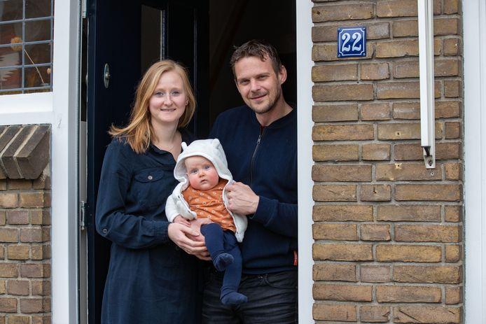 Hanne, Nora en René.