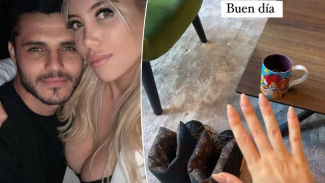 """""""Une autre famille détruite"""": la brouille entre Mauro Icardi et Wanda Nara tourne au feuilleton sur les réseaux sociaux"""