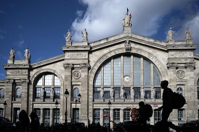 Het Gare du Nord in de Franse hoofdstad Parijs.