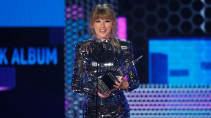 Taylor Swift verbreekt record op American Music Awards