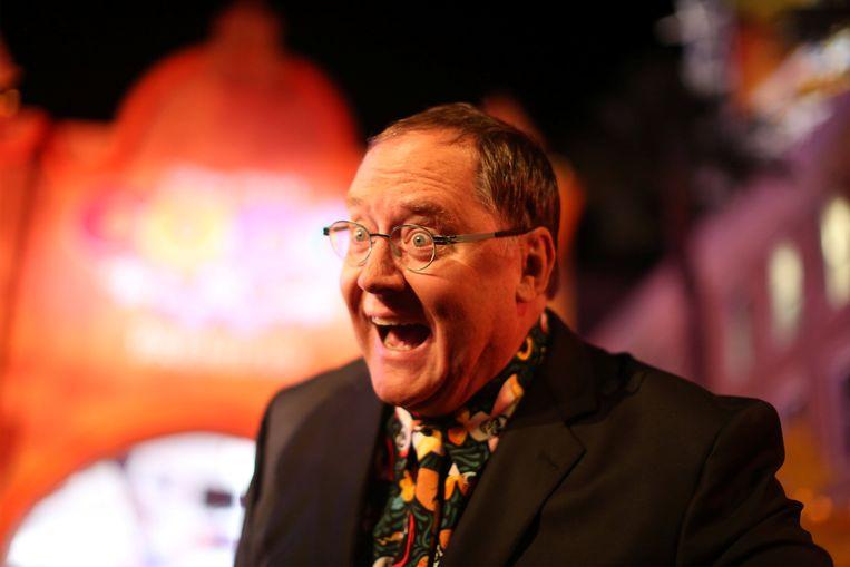 John Lasseter op de premiere van