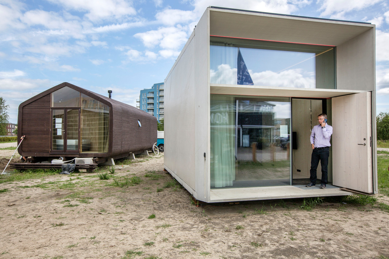 Tiny houses in Almere