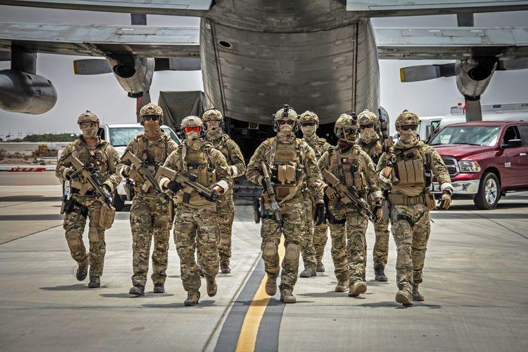 Belgische special forces.  Beeld rv vtm