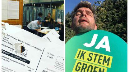 Zo ging bekend Vlaanderen naar de stembus