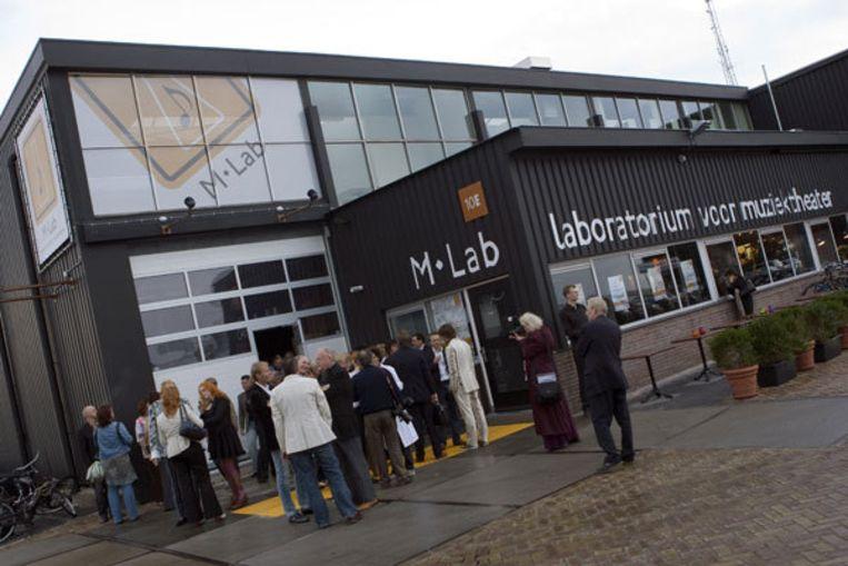 Naast gratis optredens van Daniël Samkalden, Mylou Frencken en Anne van Veen komt het M-Lab ook met een voorbezichtiging van de eigen productie The Wild Party. Foto ANP Beeld