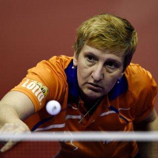 Nederlands kampioen tafeltennis Elena Timina (50) stopt ermee: 'Ik heb voor tien levens gespeeld'