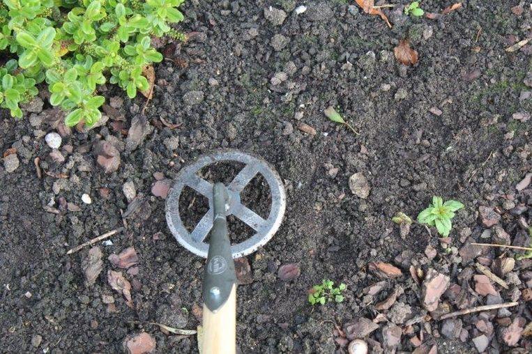 Rondschoffel - wat is dit voor tuingereedschap?