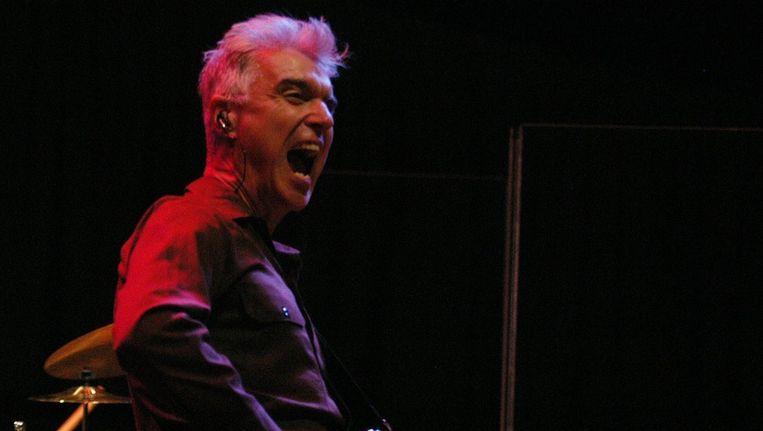 David Byrne, voornalig zanger van The Talking Heads. © EPA. Beeld