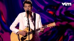 Bram schopte het met 'Like I Love You' tot in de finale van 'The Voice Van Vlaanderen'