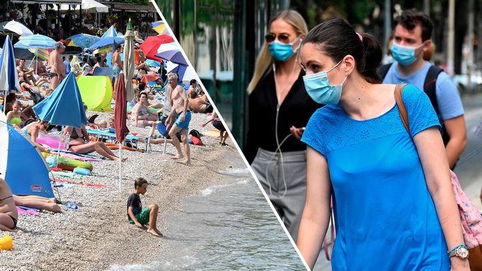 Campinghouders zien gasten in Kroatië massaal vertrekken.