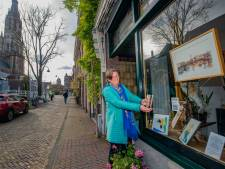 Achter elk raam een werk met Quarantainekunst: 'Komt op plekken waar je normaal nooit komt'