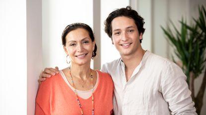 """Overbezorgde Martine Prenen moet zoon Milan leren loslaten: """"Ik heb zo'n app waarmee ik hem kan tracken"""""""