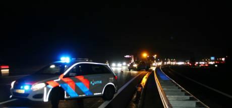 Gewonde bij ongeval op A1 bij Rijssen