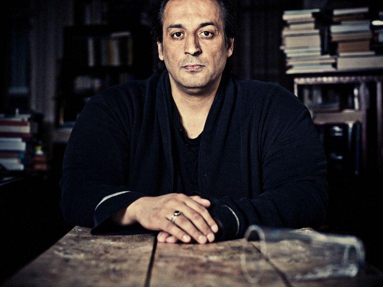Schrijver Hafid Bouazza.  Beeld Jelle Vermeersch