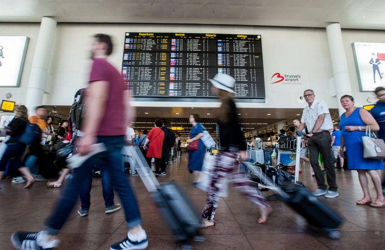 Beeld ter illustratie, Brussels Airport. Beeld EPA